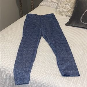 Champion size small blue workout leggings